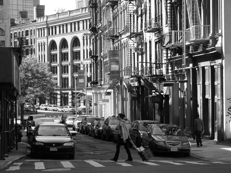 New York City Street Life in Black and White 27 by kukikid ...
