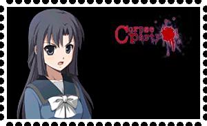 Corpse Party Haruna stamp by Sachiko-Shinozaki