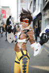 Overwatch Tracer Cosplay