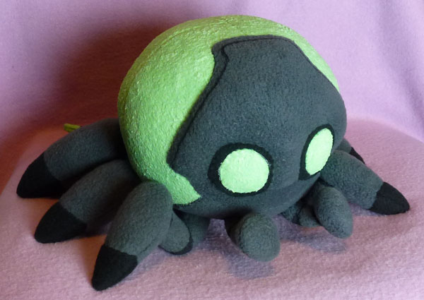Glow In the Dark Baby Cybug by AmberTDD