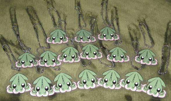 Baby Kraken Keychains