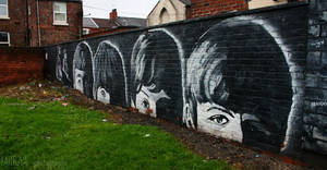 graffiti Beatles by sunshine-b