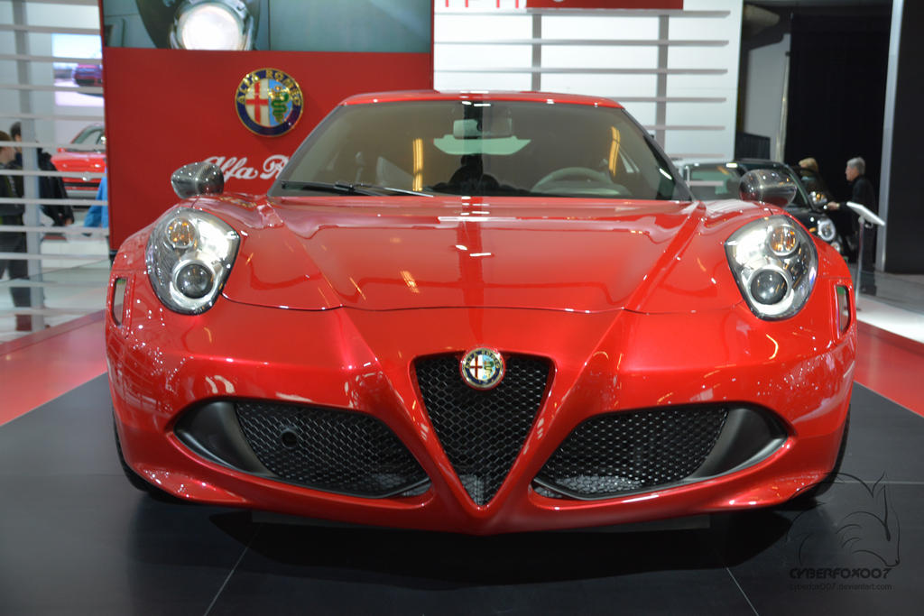 Italian lady in red by cyberfox007