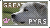 Great Pyrenees Stamp by LiveLaughLove190
