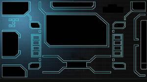 Tron Legacy Interface Screen-1366x768