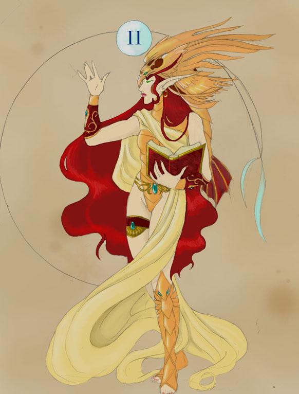 Rosalynd High Priestess by Alkaline-Lady