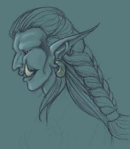 World of Warcraft- Troll gal by Alkaline-Lady