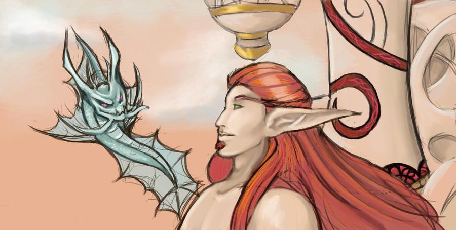 Blood Elf Exchange by Alkaline-Lady