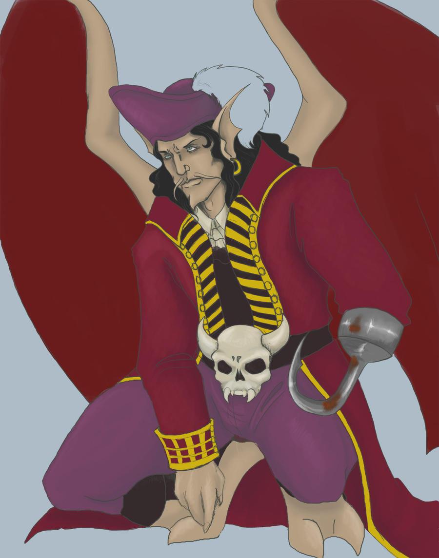 Captain Hook by Alkaline-Lady