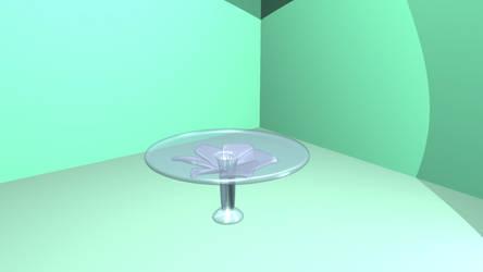 Glass Flower Furniture by Alkaline-Lady