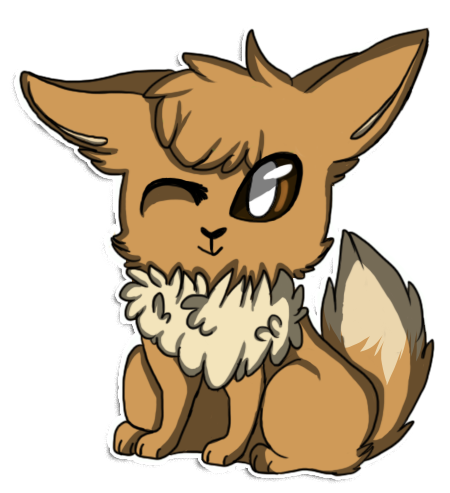 Free to Use Pokemon Images Little_eevee___speedpaint_by_m1kuchu-d6d6gcm