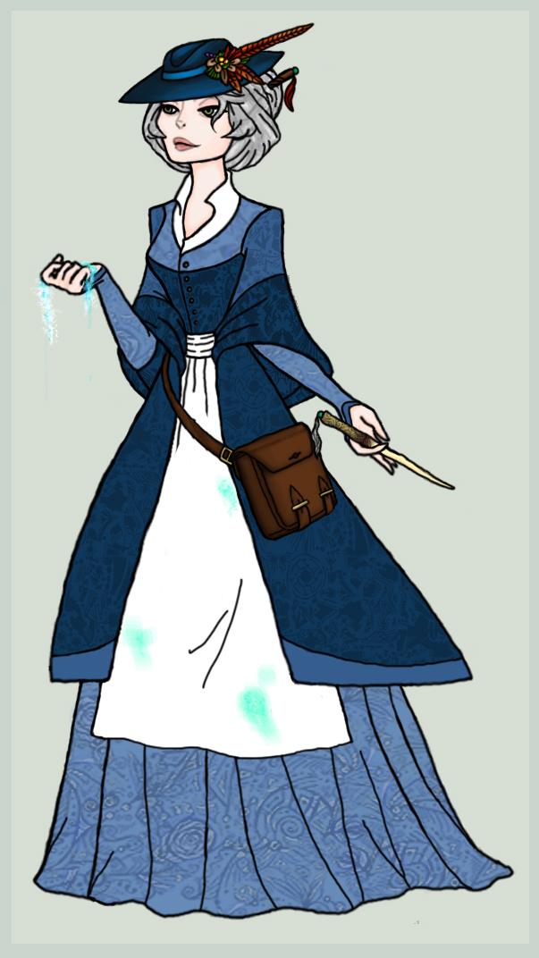 Harry Potter Oc Professor Hellen Dorinson By Hinata2000 On