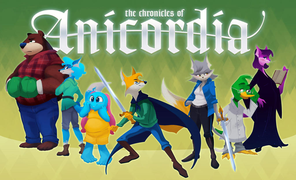 The Chronicles of Anicordia: Cover Art