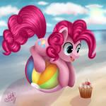 Pinkie Pie: on the ball.