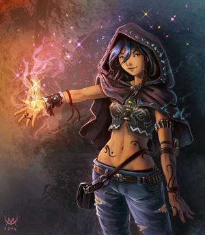Shadowrun OC : Shayanne by Daegann