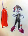 Assai ''fanart'' by my daughter by Daegann