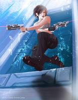 Assai - Gunslinger escape by Daegann