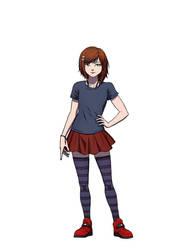 Zoe Evolution - 13 years old by Daegann