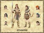 Sinokees - Tribe sheet
