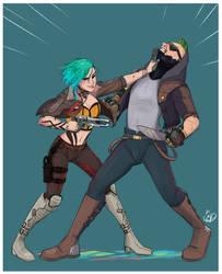 Ash - Gun-fu
