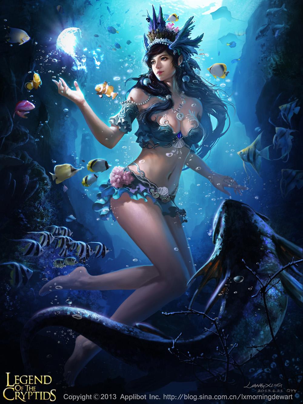 Teal Ocean Banquet-adv by liangxinxin
