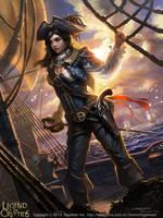 Dragonwoman Mylwaye2 by Liang-Xing