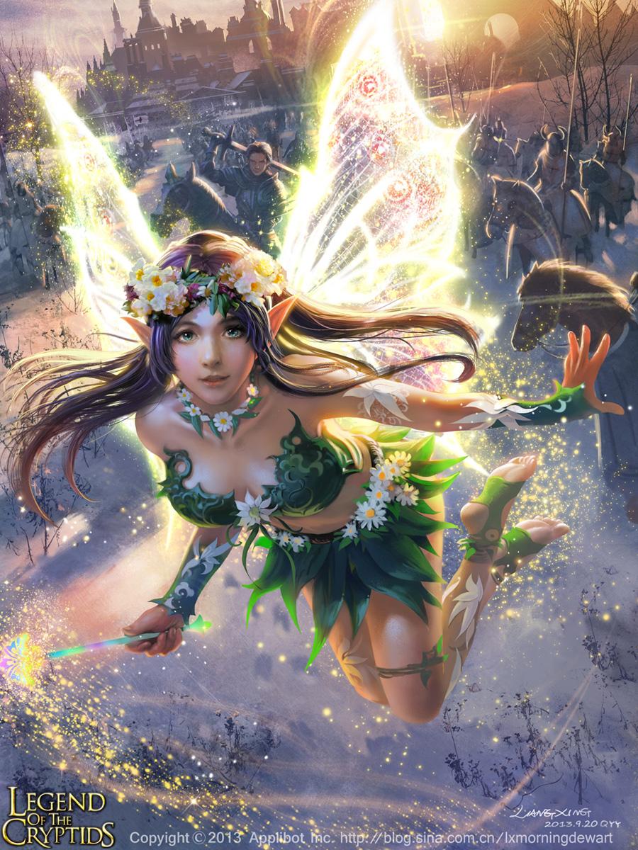 Marvelous Fairy Raili-adv by liangxinxin