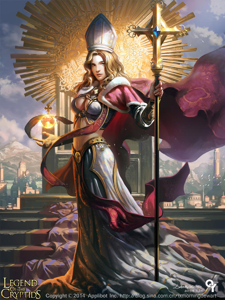Revered Oracle Milleon by liangxinxin