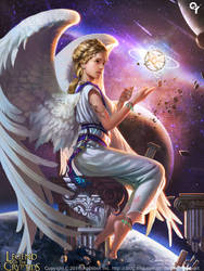 Cosmic planetary angels1 by Liang-Xing