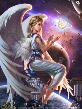 Cosmic planetary angels1