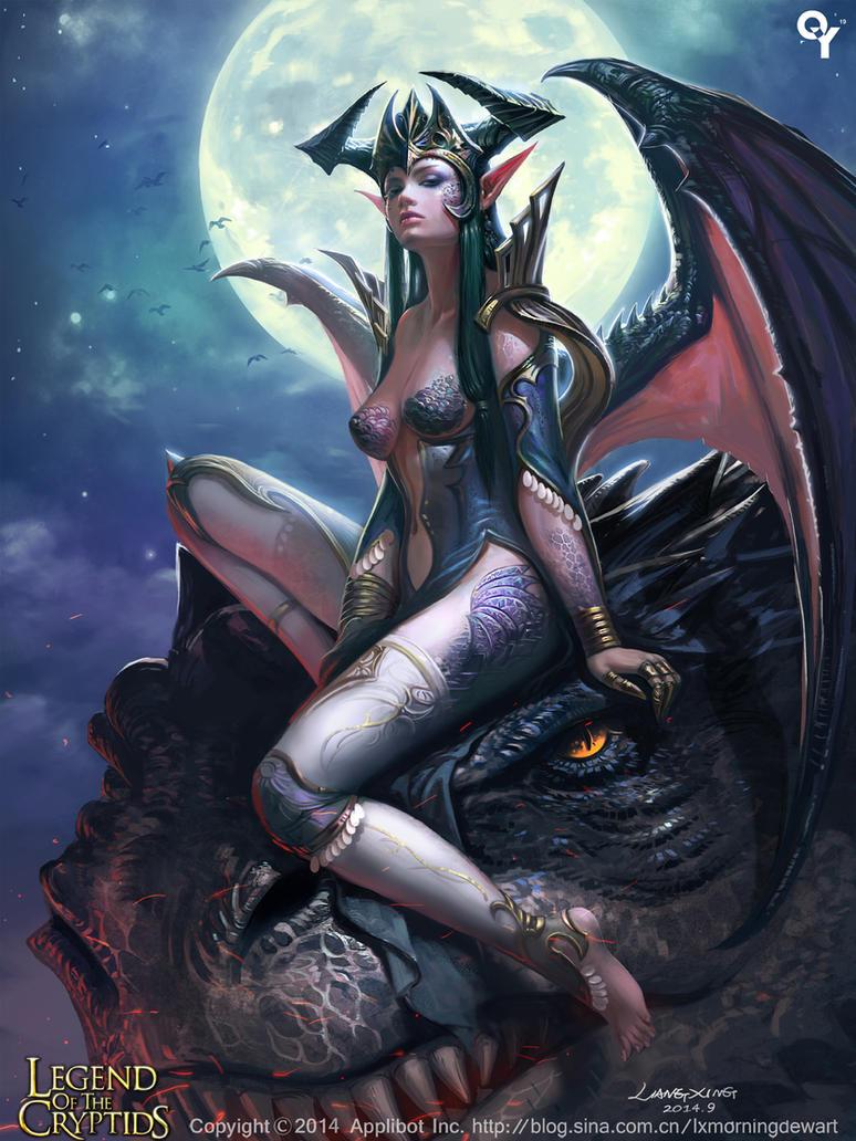 Dragon girl2 by liangxinxin