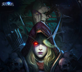Heroes of the storm-Sylvanas Windrunner