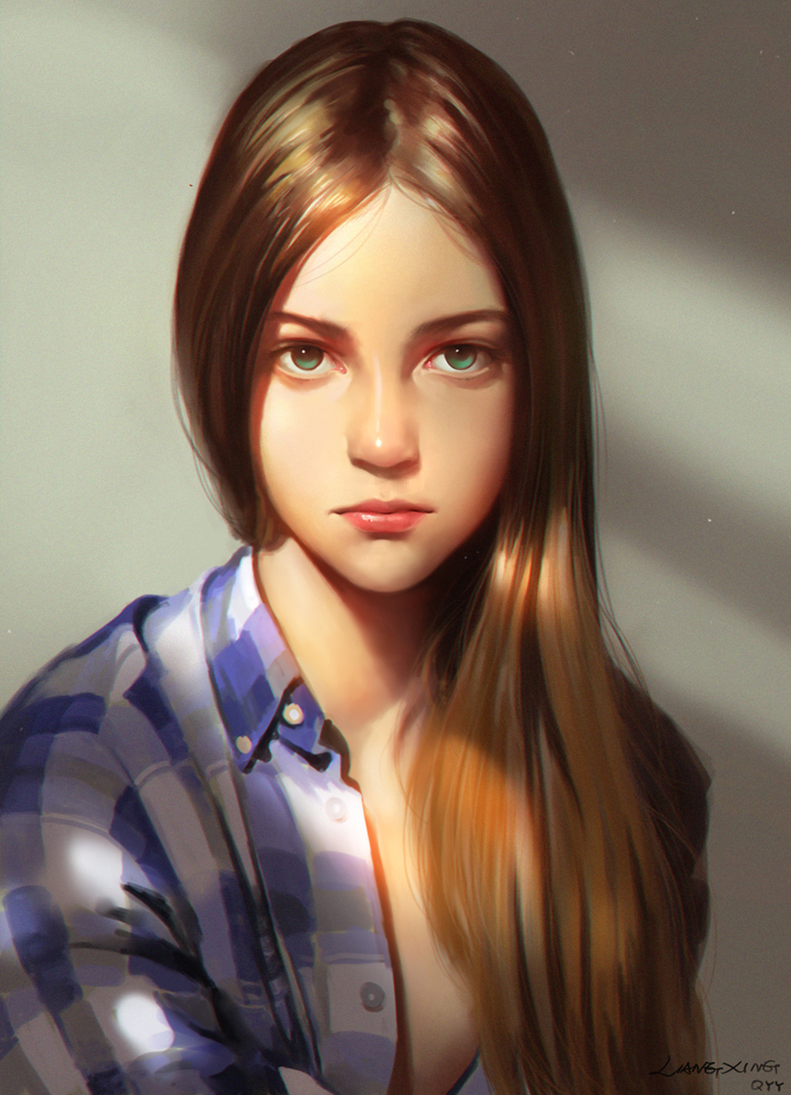 Girl By Liang Xing On Deviantart