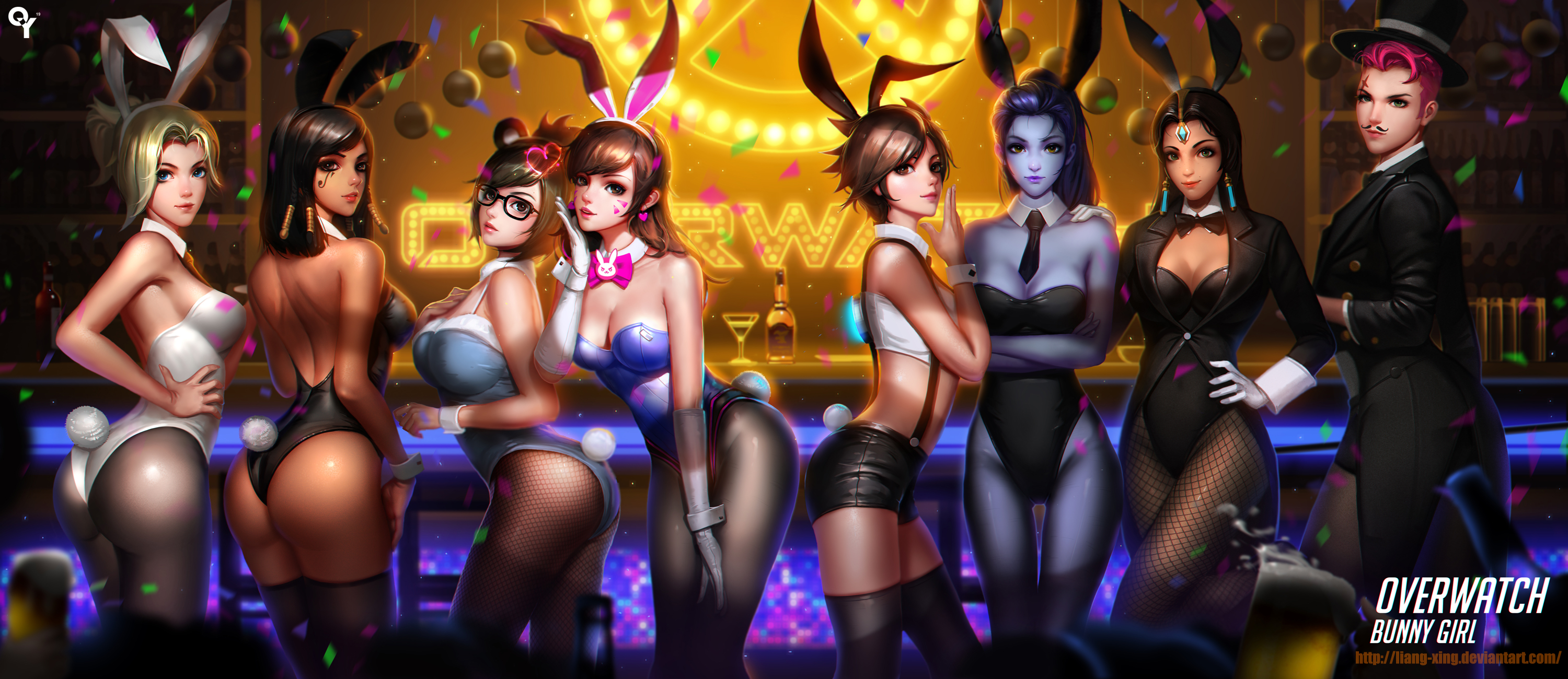 All Overwatch Girls Naked overwatch bunny girlliang-xing on deviantart