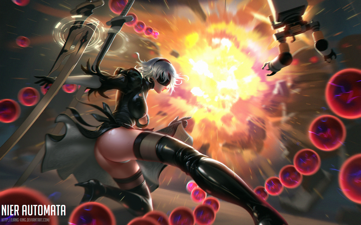 Nier Automata By Liang Xing On Deviantart