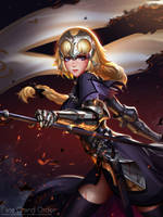 Ruler Jeanne d'Arc by Liang-Xing