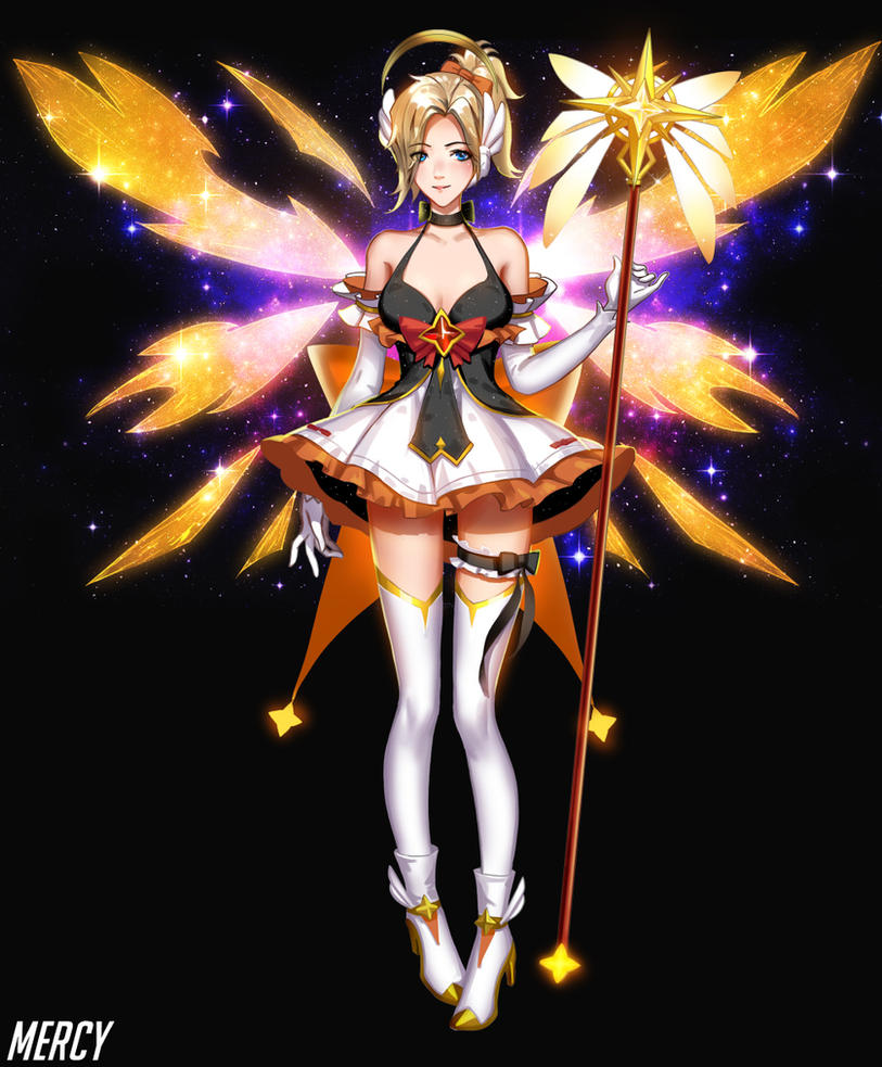 Magic Mercy design by Liang-Xing on DeviantArt