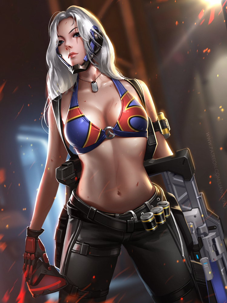 Soldier 76 by Liang-Xing