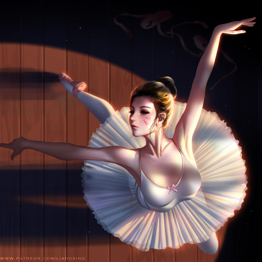 Ballet dancer Dva by Liang-Xing