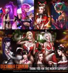 December Content complete !