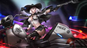Sheriff Ashe by Liang-Xing