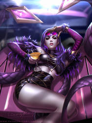 Kda Widowmaker by Liang-Xing