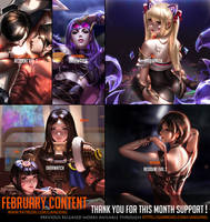 February Content complete ! by Liang-Xing