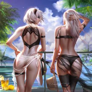 Sunshine Beach(2B A2 Swimsuit)