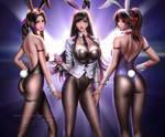 Tifa Aerith Jessie Bunny