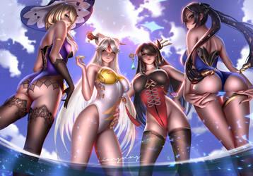 Genshin swimsuit