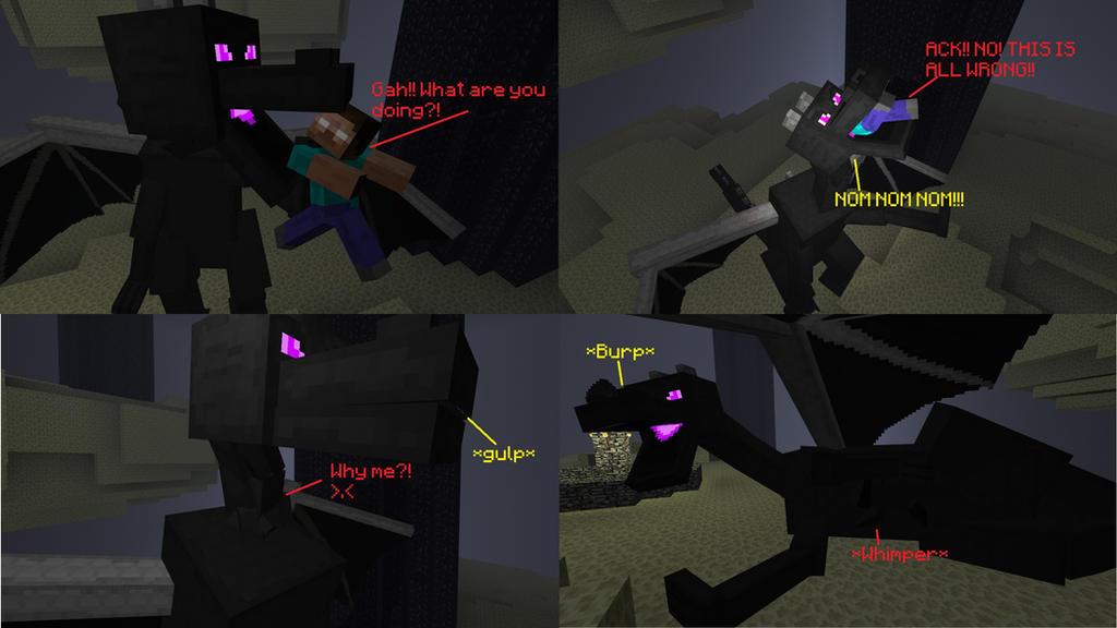 Minecraft Vore Comic By Enderdragon24 On Deviantart