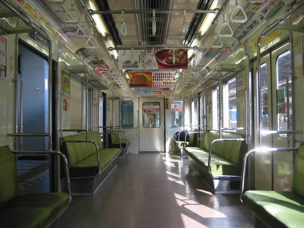 Subway in Tokyo by HyperLemon