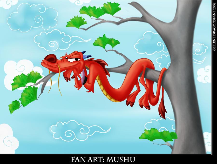 Mushu by selene713