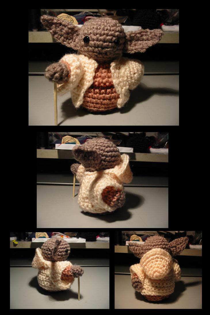 Amigurumi Yoda Patron : Cute Yoda amigurumi by selene713 on DeviantArt